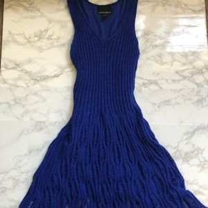 Blue Cynthia Rowley Dress - SIze Small